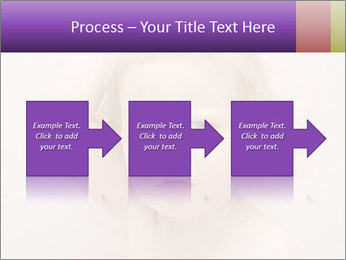Pretty blond PowerPoint Template - Slide 88