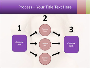 Pretty blond PowerPoint Template - Slide 92