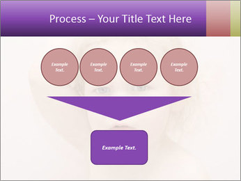 Pretty blond PowerPoint Template - Slide 93