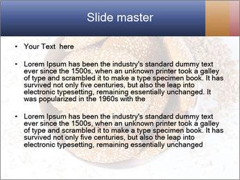 Bowl of cookies PowerPoint Template - Slide 2