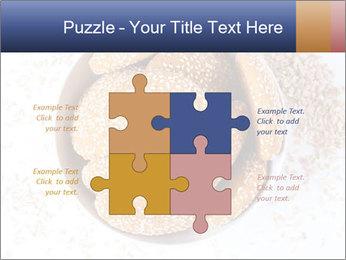 Bowl of cookies PowerPoint Template - Slide 43