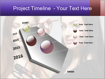 Beautiful young woman PowerPoint Template - Slide 26