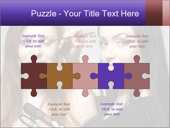 Beautiful young woman PowerPoint Templates - Slide 41