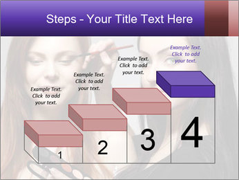 Beautiful young woman PowerPoint Template - Slide 64