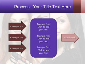 Beautiful young woman PowerPoint Template - Slide 85