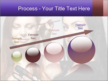 Beautiful young woman PowerPoint Template - Slide 87