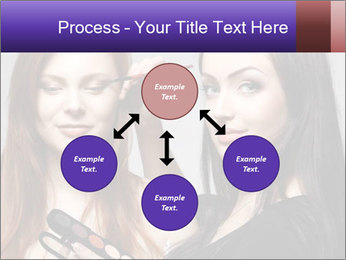 Beautiful young woman PowerPoint Template - Slide 91
