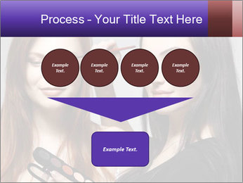Beautiful young woman PowerPoint Template - Slide 93