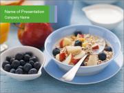 Healthy breakfast PowerPoint Templates