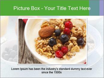 Healthy breakfast PowerPoint Template - Slide 15