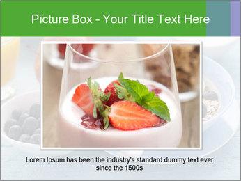 Healthy breakfast PowerPoint Template - Slide 16