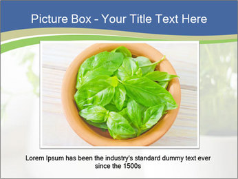 Green parsley PowerPoint Templates - Slide 15