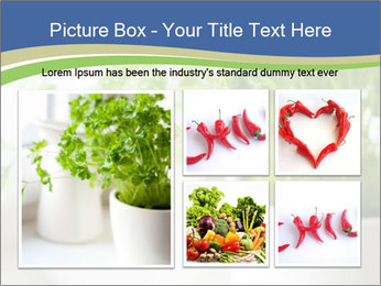 Green parsley PowerPoint Templates - Slide 19