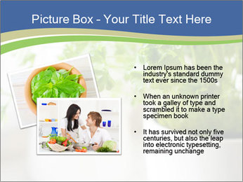 Green parsley PowerPoint Templates - Slide 20