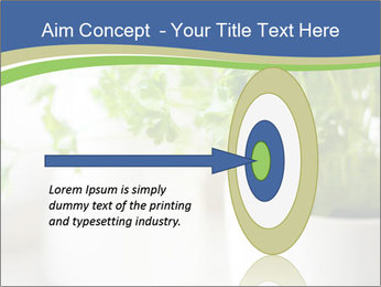 Green parsley PowerPoint Templates - Slide 83