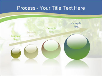 Green parsley PowerPoint Templates - Slide 87