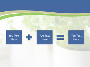 Green parsley PowerPoint Templates - Slide 95