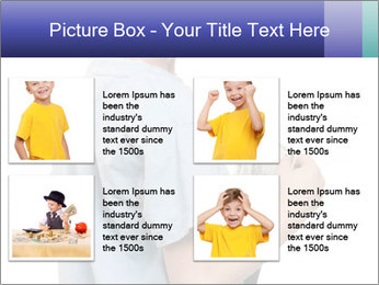 Little boy holding a dollars PowerPoint Templates - Slide 14