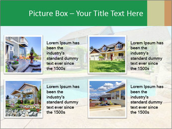 Luxury house PowerPoint Template - Slide 14