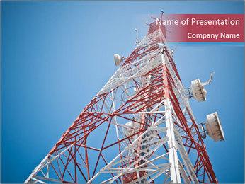Antenna PowerPoint Templates - Slide 1