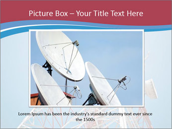 Antenna PowerPoint Template - Slide 15