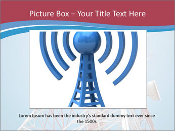 Antenna PowerPoint Template - Slide 16