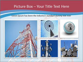 Antenna PowerPoint Template - Slide 19