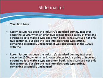 Antenna PowerPoint Template - Slide 2