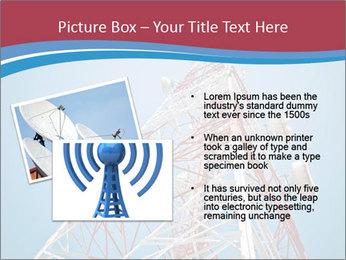 Antenna PowerPoint Template - Slide 20