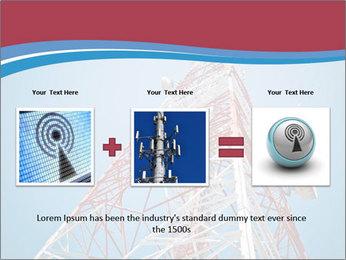 Antenna PowerPoint Templates - Slide 22