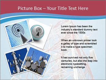 Antenna PowerPoint Template - Slide 23