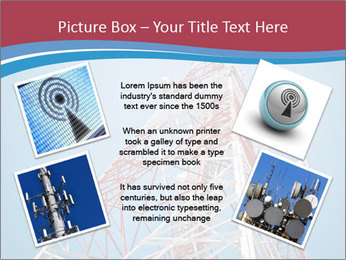 Antenna PowerPoint Template - Slide 24