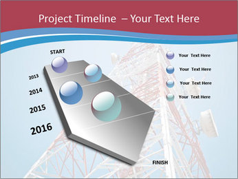 Antenna PowerPoint Template - Slide 26