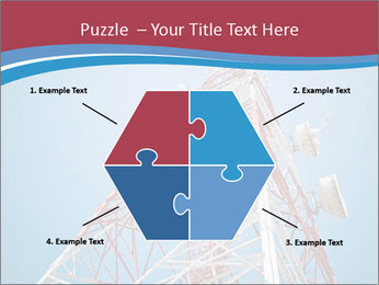 Antenna PowerPoint Template - Slide 40