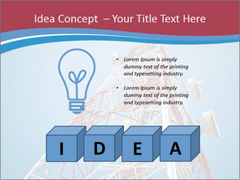 Antenna PowerPoint Template - Slide 80