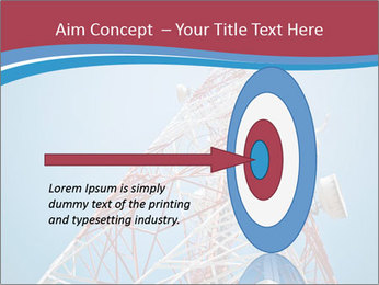 Antenna PowerPoint Template - Slide 83