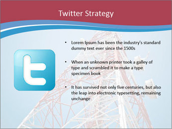 Antenna PowerPoint Template - Slide 9