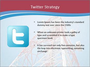 Antenna PowerPoint Templates - Slide 9
