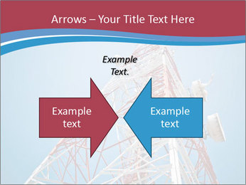 Antenna PowerPoint Template - Slide 90