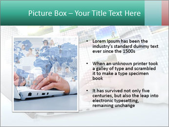 Laptop and business person PowerPoint Templates - Slide 13