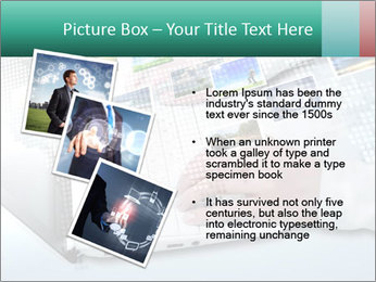 Laptop and business person PowerPoint Templates - Slide 17