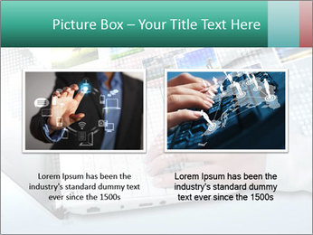 Laptop and business person PowerPoint Templates - Slide 18