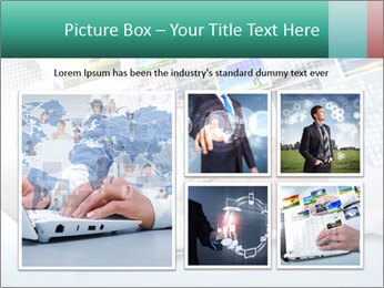 Laptop and business person PowerPoint Templates - Slide 19