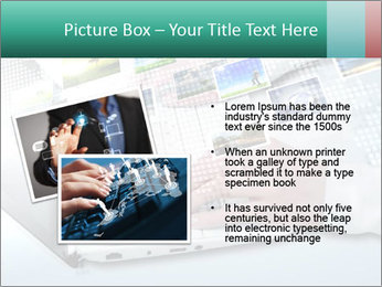 Laptop and business person PowerPoint Templates - Slide 20