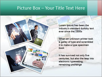 Laptop and business person PowerPoint Templates - Slide 23