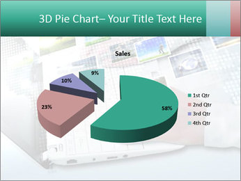 Laptop and business person PowerPoint Templates - Slide 35