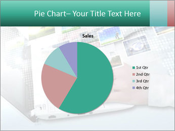 Laptop and business person PowerPoint Templates - Slide 36
