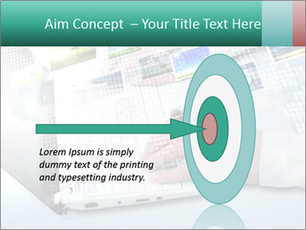 Laptop and business person PowerPoint Templates - Slide 83