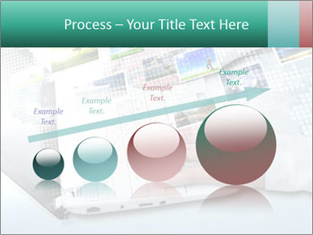 Laptop and business person PowerPoint Templates - Slide 87