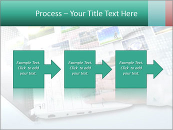 Laptop and business person PowerPoint Templates - Slide 88